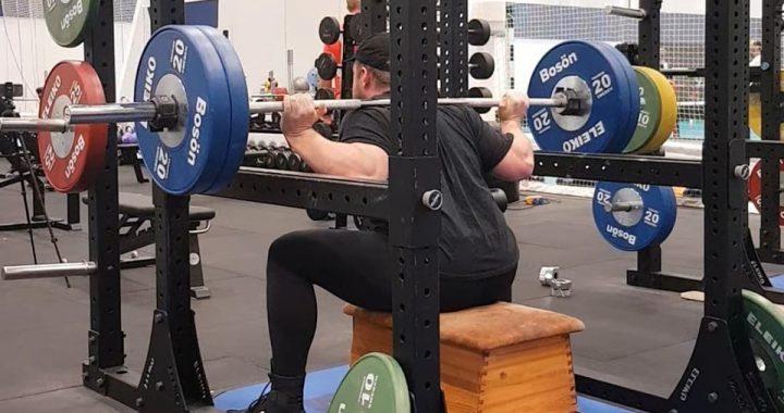 100kg boxböj bosön